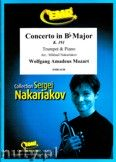 Okładka: Mozart Wolfgang Amadeusz, Concerto in Bb Major K. 191