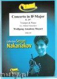 Okładka: Mozart Wolfgang Amadeusz, Concerto in Bb Major (partytura + głosy)