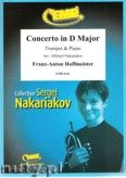 Okładka: Hoffmeister Franz Anton, Concerto in D Major (partytura + głosy)