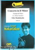 Okładka: Mendelssohn-Bartholdy Feliks, Concerto in D Minor (partytura + głosy)