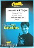 Okładka: Weber Carl Maria von, Concerto in F Major (partytura + głosy)