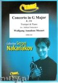 Okładka: Mozart Wolfgang Amadeusz, Concerto in G Major (partytura + głosy)