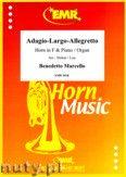 Okładka: Marcello Benedetto, Adagio-Largo-Allegretto