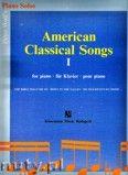 Okładka: Wolf Péter, American Classical Songs 1 - piano