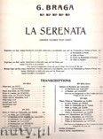 Okładka: Braga Gaetano, La Serenata