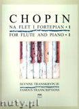 Okładka: Chopin Fryderyk, Słynne transkrypcje na flet i fortepian