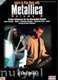 Okładka: Hoffman Steven, Learn Play Bass with Metallica, Volume 2