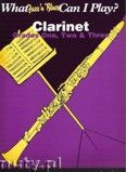 Okładka: , What Jazz 'n' Blues Can I Play? Clarinet Grades 1, 2 And 3
