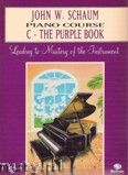 Okładka: Schaum John W., Piano Course C The Purple Book