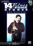 Okładka: Mintzer Bob, 14 Blues And Funk Etudes For Eb Instruments (Alto Sax, Baritone Sax)