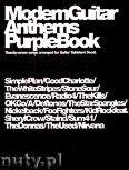 Okładka: Różni, Modern Guitar Anthems Purple Book