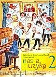 Okładka: Florek Lidia, Tomera-CHmiel Ilona, Stachak Tatiana, Nasza muzyka 2. Podręcznik do kształcenia słuchu i rytmiki dla II klasy szkoły muzycznej pierwszego stopnia.