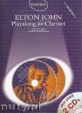 Okładka: John Elton, Guest Spot: Elton John Playalong For Clarinet