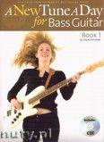 Okładka: Kershaw Steve, A New Tune A Day: Bass Guitar - Book 1 (CD Edition)
