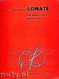 Okładka: Wolff Hellmuth Christian, Sonate für Violoncello und Klavier, Op. 38d (1945)