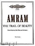 Okładka: Amram David, The Trail of Beauty for Mezzo-Soprano, Solo Oboe and Orchestra
