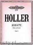 Okładka: Höller Karl, Sonata for Violin and Piano, Op. 4
