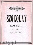 Okładka: Szokolay Sándor, Violin Concerto (Piano Reduction) (Vln-Pf)