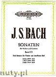 Okładka: Bach Johann Sebastian, Sonatas for Violine and Harpsichord, BWV 1021, 1023, 1024, Vol. 3