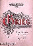 Okładka: Grieg Edward, A Dream