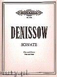 Okładka: Denissow Edison, Sonata for Flute and Piano