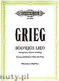 Okładka: Grieg Edward, Solvejg's Song for Voice and Piano