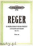 Okładka: Reger Max, 6 Preludes and Fugues Op.131a (Vln)