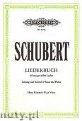 Okładka: Schubert Franz, Liederbuch (High Voice-Pf)
