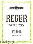 Okładka: Reger Max, 3 Suites, Op. 131c for Solo Cello