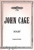 Okładka: Cage John, Four5 for Saxophone Ensamble