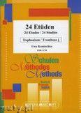 Okładka: Komischke Uwe, 24 Etüden - Euphonium