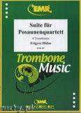 Okładka: Hidas Frigyes, Suite für Posaunenquartett - Trombone