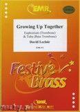 Okładka: Leclair David, Growing Up Together for Euphonium and Tuba