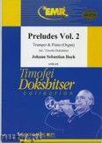 Okładka: Bach Johann Sebastian, Préludes Vol. 2  - Trumpet