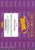 Okładka: Chappot Edouard, Concerto For Tuba & Percussion (Eb Bass Solo) - BRASS BAND