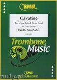 Okładka: Saint-Saëns Camille, Cavatine (Trombone Solo) - BRASS BAND