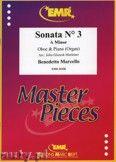Okładka: Marcello Benedetto, Sonata N° 3 in A minor - Oboe