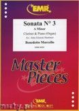 Okładka: Marcello Benedetto, Sonata N° 3 in A minor - CLARINET