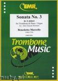 Okładka: Marcello Benedetto, Sonata N° 3 in A minor - Trombone