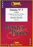Okładka: Marcello Benedetto, Sonata N° 3 in A minor - Euphonium