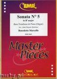 Okładka: Marcello Benedetto, Sonata N° 5 in Bb major - Trombone