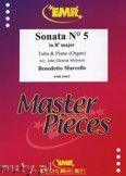 Okładka: Marcello Benedetto, Sonata N° 5 in Bb major - Tuba