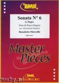 Okładka: Marcello Benedetto, Sonata N° 6 in G major - Flute