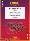 Okładka: Marcello Benedetto, Sonata N° 6 in G major - Oboe