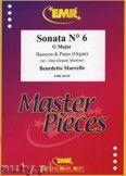 Okładka: Marcello Benedetto, Sonata N° 6 in G major - BASSOON