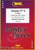 Okładka: Marcello Benedetto, Sonata N° 6 in G major - Trumpet