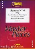 Okładka: Marcello Benedetto, Sonata N° 6 in G major - Trombone