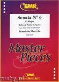 Okładka: Marcello Benedetto, Sonata N° 6 in G major - Tuba
