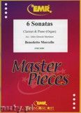 Okładka: Marcello Benedetto, 6 Sonatas - CLARINET