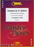 Okładka: Corelli Arcangelo, Sonata in g-minor - CLARINET